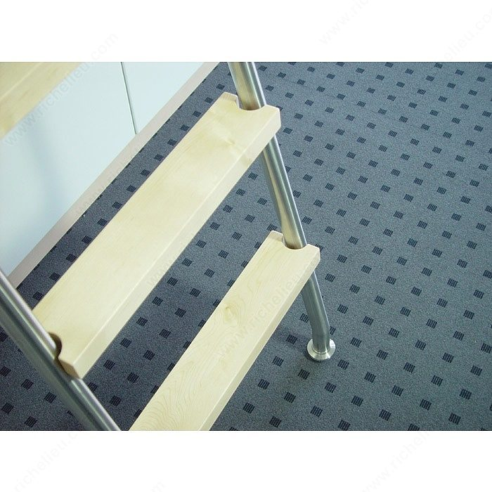 Stainless Steel 8-Step Sliding Ladder Set -6