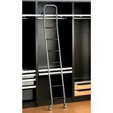 Steel Sliding Ladder Set - Grey Finish