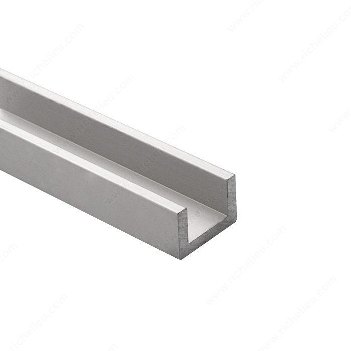 Moldura en forma de u para material de 1 2 richelieu - Perfil de aluminio en u ...