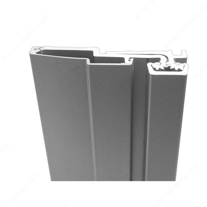Continuous Geared Full Surface Aluminum Hinge Richelieu