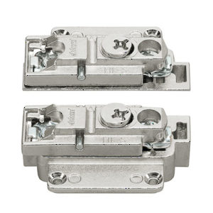 AVENTOS HK-S Front Brackets for Narrow Aluminum Frames