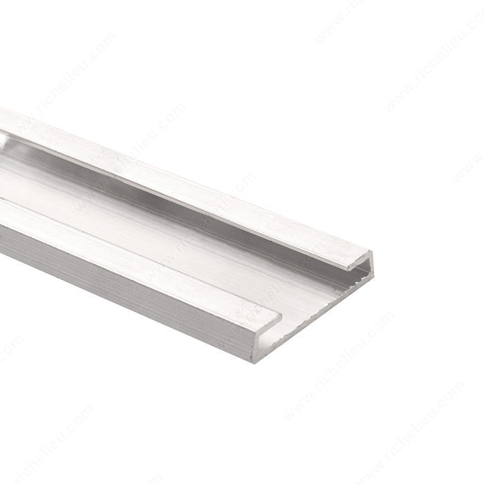Inserto de aluminio para panel ranurado richelieu hardware for Perfil u aluminio leroy merlin