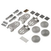 Accessories Kit for Glass Door - Glue-Mounted/Reversible