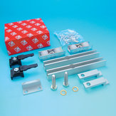 Accessory Kit (Quiet Rollers and Narrower Fittings) for Sliding Doors