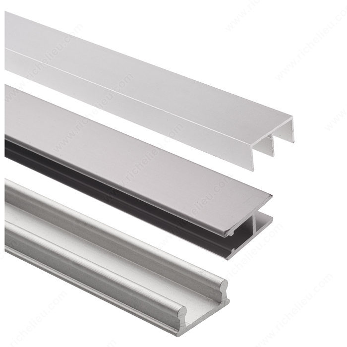 Track Set For Display Glass Sliding Doors Richelieu Hardware