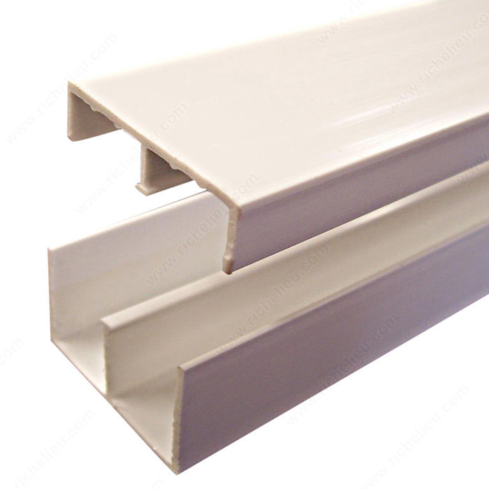 Sliding track system richelieu hardware for Where to buy lucite