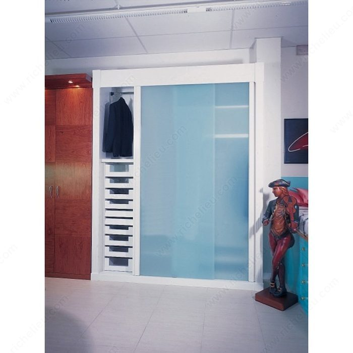 Clos glass 80 richelieu hardware for Commercial interior sliding glass doors