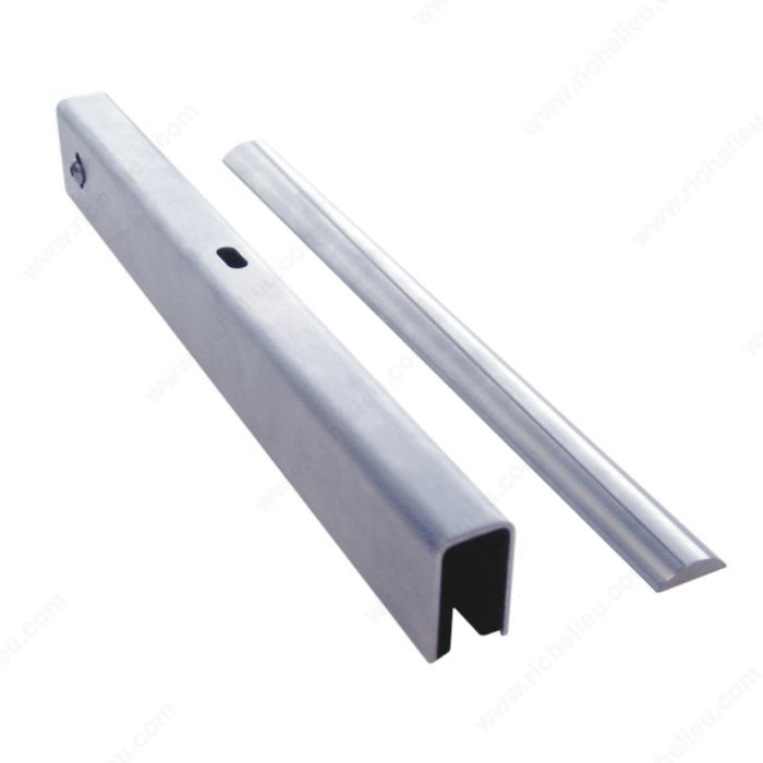 Stainless Steel Running and Guiding Track  - Terra for Wood and/or Glass Doors-1