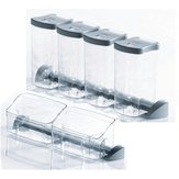 Set of Translucent Storage Containers