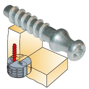 Screw Dowel Ø5 mm
