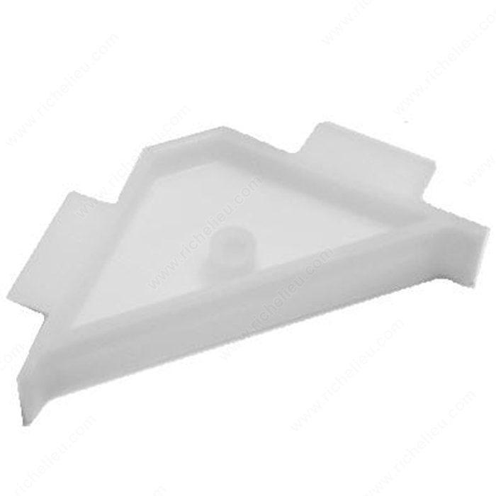 3-Sided Plastic Corner Brace - Richelieu Hardware