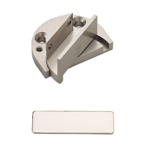 Recessed Reversible Pivot Hinge for Glass Door Within Furniture/Cabinet