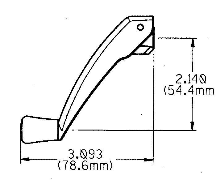 Window Operator Handle Folding Richelieu Hardware