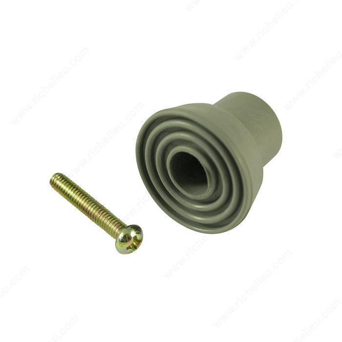 Rubber tips for flip down door stop 68 richelieu hardware - Rubber door stoppers ...