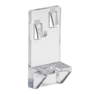 Heavy-Duty Locking Shelf Clip - 5 mm