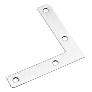 L-shaped connection plate