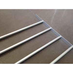 "Aluminum Rack for Skirts and/or Pants (35-7/16"" Interior Width)"