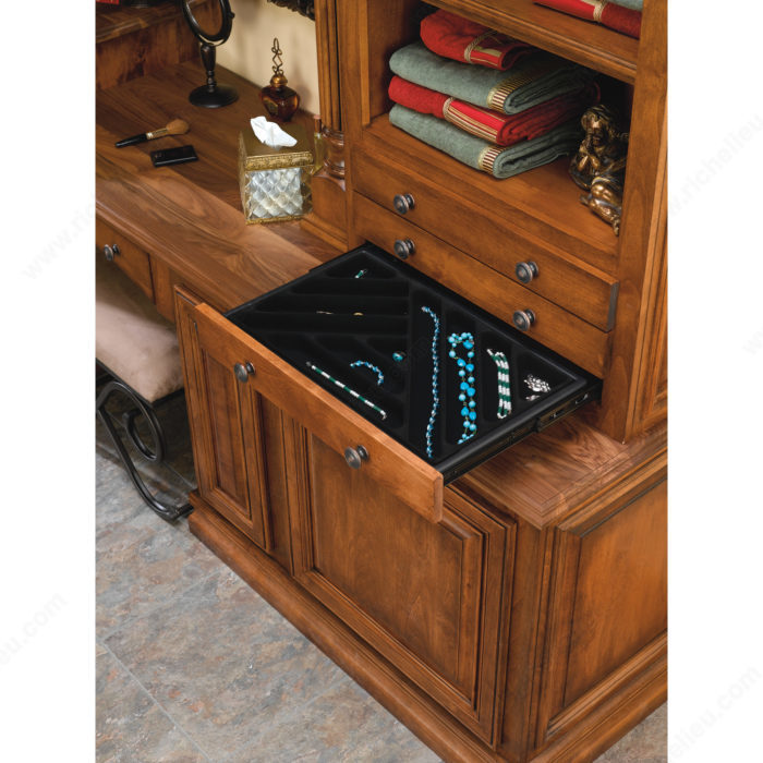 tiroir bijoux quincaillerie richelieu. Black Bedroom Furniture Sets. Home Design Ideas