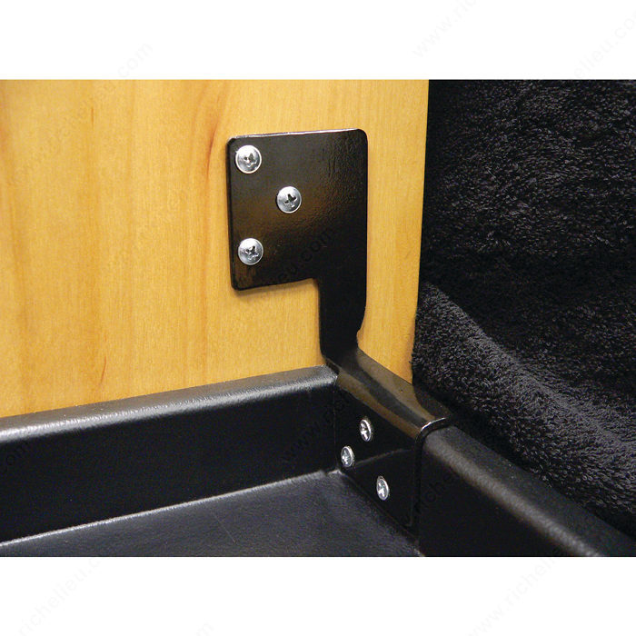 Door Mounting Bracket for Jewelry Drawer-1