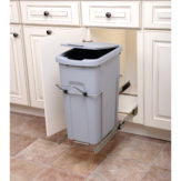 Double Bin Recycling Center with Handle