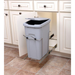 Single Bin Recycling Center with Handle