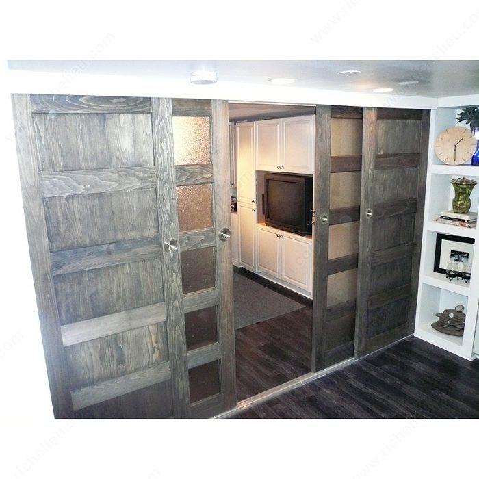 C 538 door thickness 1 3 8 in 2 1 2 richelieu hardware for Commercial interior sliding doors