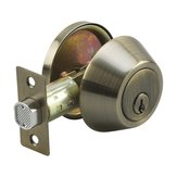 Deadbolt - Single Cylinder with 4-Way Latch