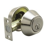 Deadbolt - Double Cylinder with 4-Way Latch