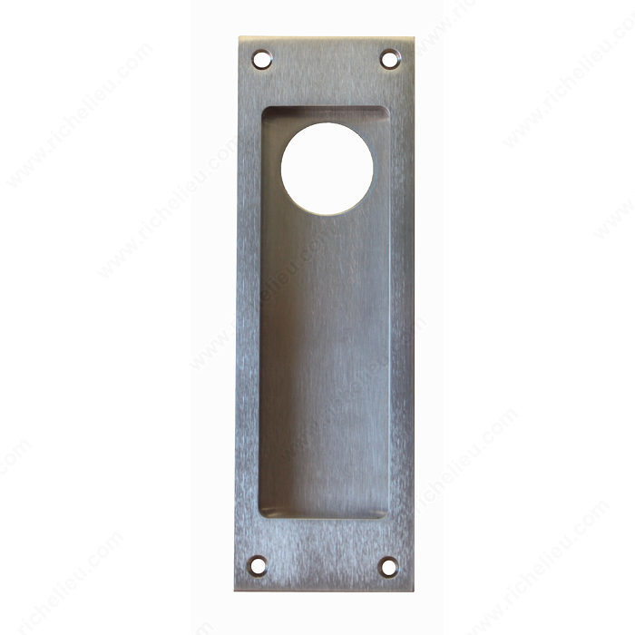 Flush Pull Handle For Use With Cylinder Square Style