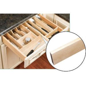 Wood Divider for Drawer Organisers