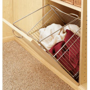 Tilt-Out Hamper Basket