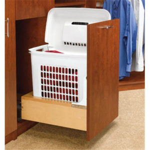 Bottom-Mounting Pull-Out Hamper - 1 x 63.67 qt.