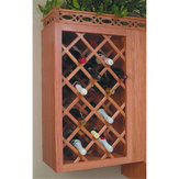 Deluxe Wine Rack Lattice