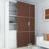 Slider L70 - Large. Pre-Assembled Coplanar 2 Door System for Large Heavy Doors - Standard Size
