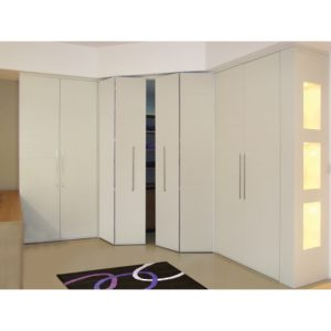 "PL 2550 BI-FOLDING Door System for Closets with 3/4"" (19 mm) thick doors"