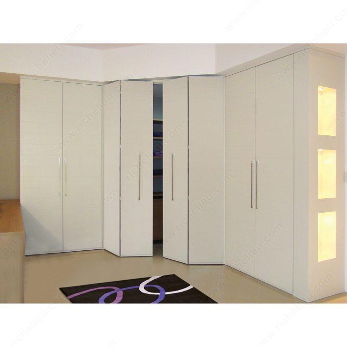 Syst me coulissant par le haut pour portes pliantes de 3 4 for Systeme porte pliante