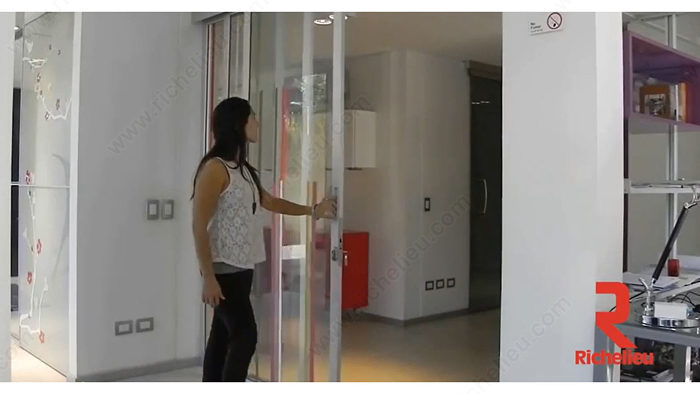 TWIN TELESCOPIC WOOD. Synchronized Telescopic Sliding System for Two Wood Doors & TWIN TELESCOPIC WOOD. Synchronized Telescopic Sliding System for ... Pezcame.Com