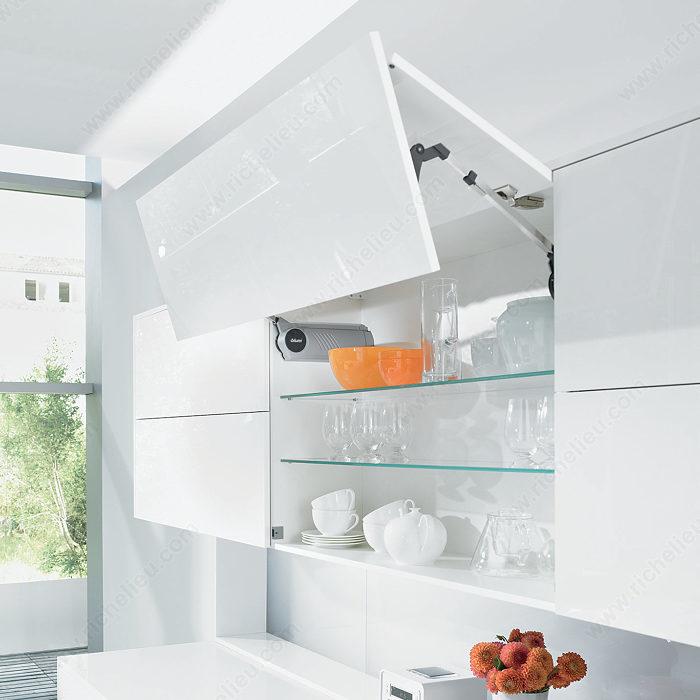 aventos hf mechanism with servo drive richelieu hardware. Black Bedroom Furniture Sets. Home Design Ideas
