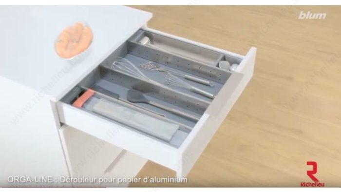 Orgaline Cling Film And Aluminum Foil Dispensers Richelieu Hardware
