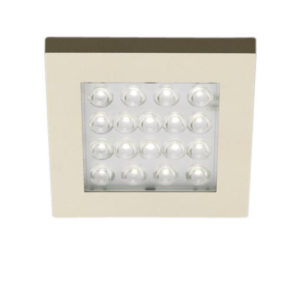 LED Square Puck Light 1.2 W 24 V