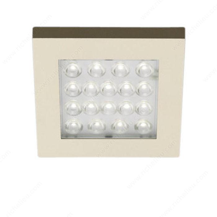 Led square puck light 12 w 24 v richelieu hardware aloadofball Images