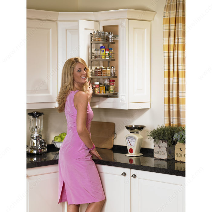 Kitchen Cabinet Accessories Pull Out: Dream Maple Upper Cabinet Pull-Out