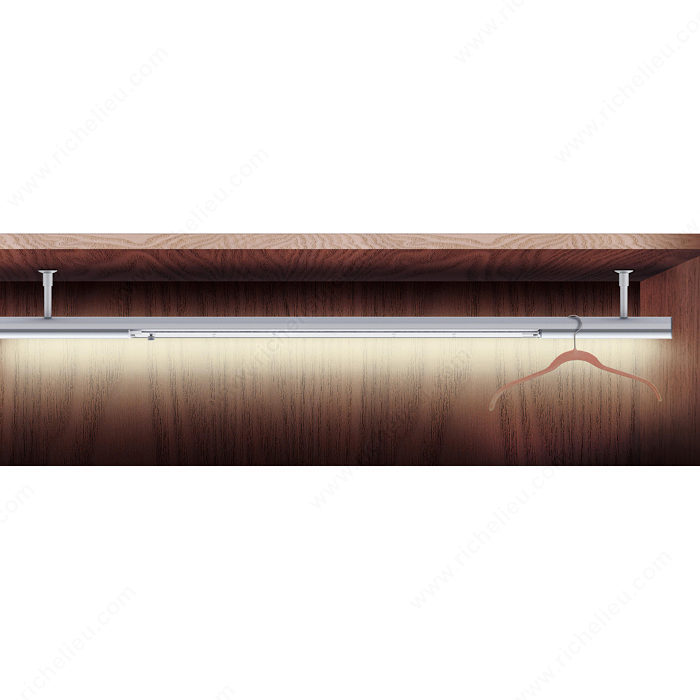 Richelieu's Perfecta LED Closet Rod-4