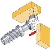 Quickfit Screw-in Dowel