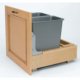 Bottom-Mounting Pull-Out Waste Container