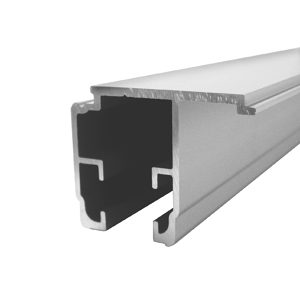 Aluminum Fixed Panel Side Track - U21 12'