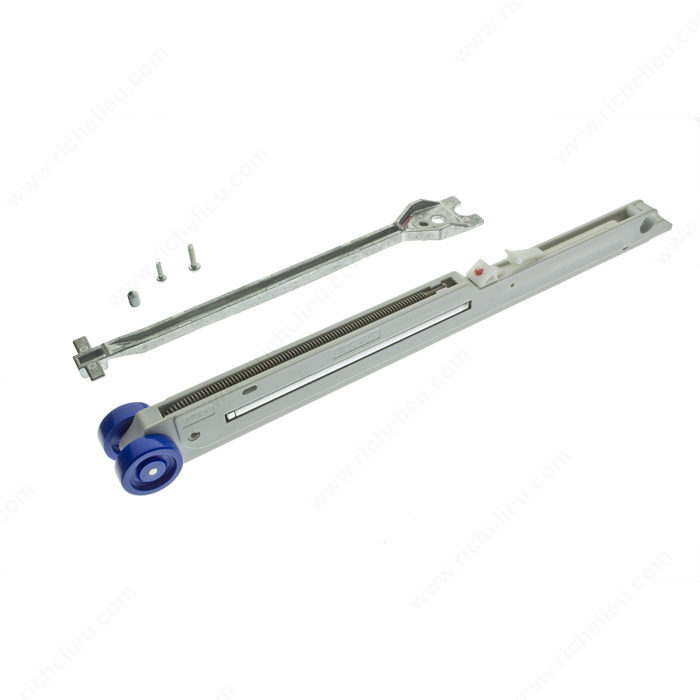 Syst me de fermeture amortie int gr pour porte coulissante quincaillerie r - Porte coulissante mecanisme ...