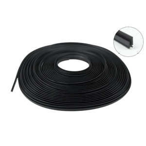 Screening Seal, Black Plastic, Coil of 20 m