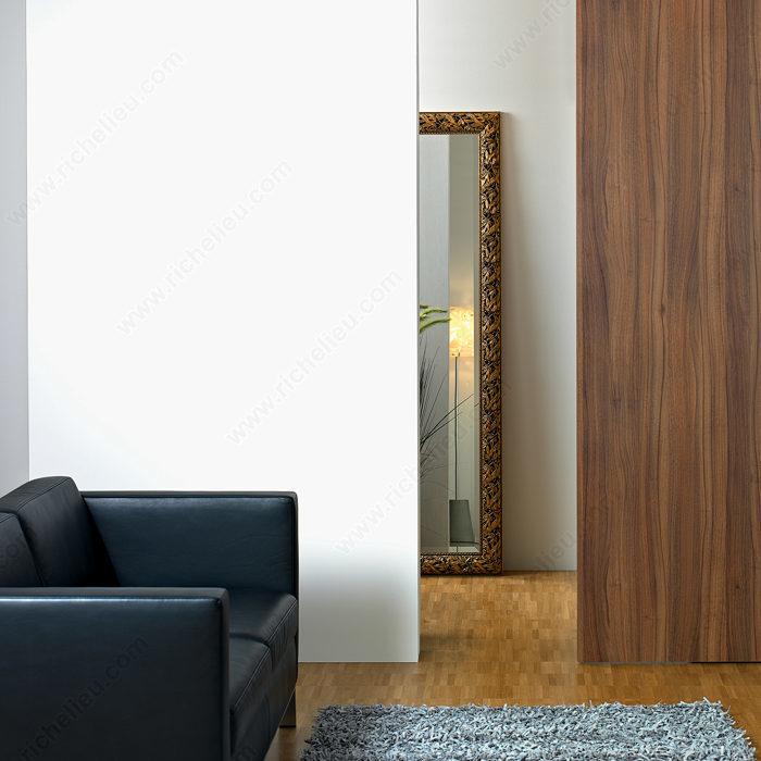 Ensemble de quincaillerie pour une porte coulissante en - Quincaillerie porte coulissante exterieure ...