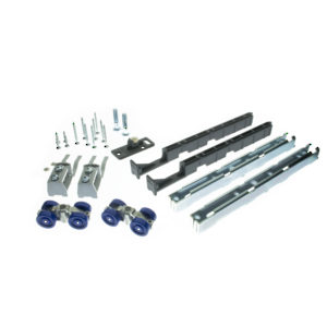 Hardware Set for Wood Sliding Door, UP/60 kg